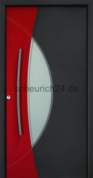 neuigkeiten neue zweifarbige motive f r aluminium haust ren von h rmann. Black Bedroom Furniture Sets. Home Design Ideas
