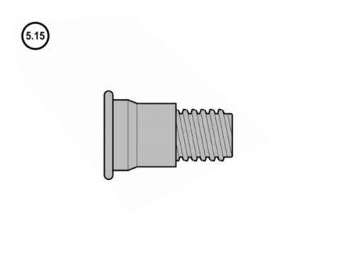 5.15 - Hörmann Gewindebolzen / Inbusschraube M 8 für Hebelverschlusslager N80/F80/EcoStar