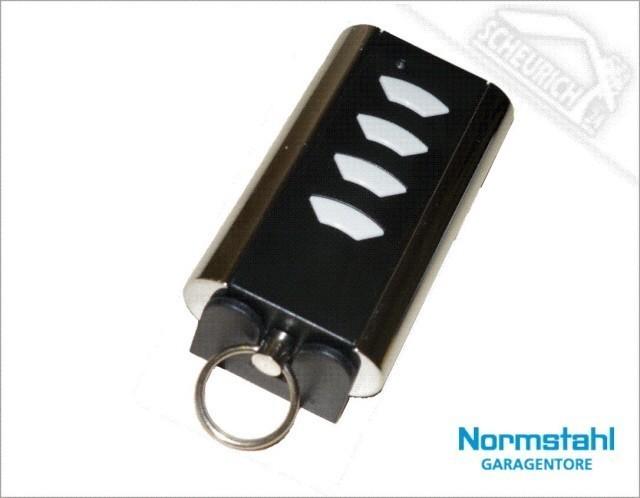 Normstahl Handsender Mini, 433 MHz Rolling Code, 4-Befehl
