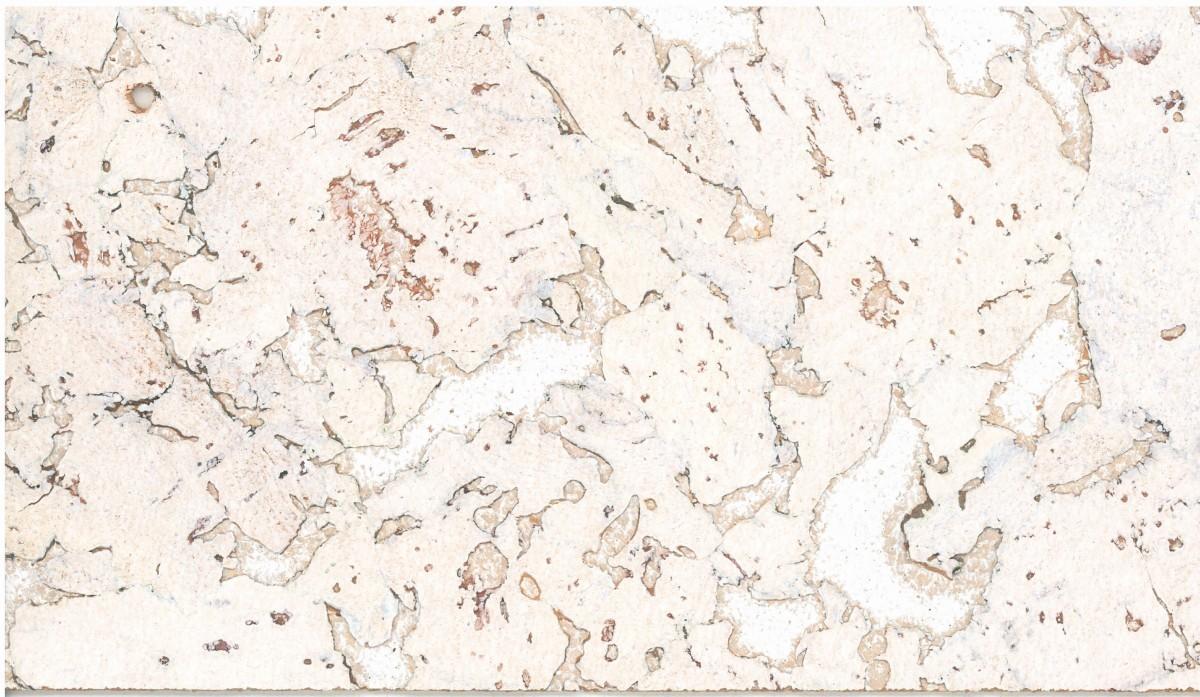 KWG Kork-Wandbelag 2430 weiss edelfurniert 300x600x3 mm 0,90 m²