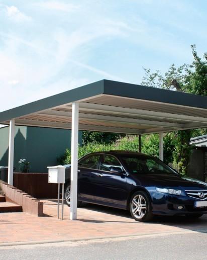 flachdach carports preisvergleiche erfahrungsberichte und kauf bei nextag. Black Bedroom Furniture Sets. Home Design Ideas