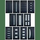 TorOne HTA Aluminium Haustür - Wählen Sie Ihr Tür Motiv