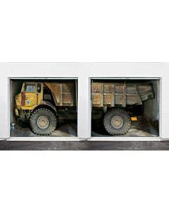 Mehrfach-Garagentorplane Truck