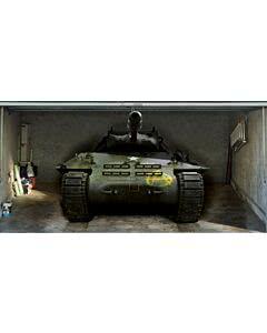 Garagentorplane Panzer