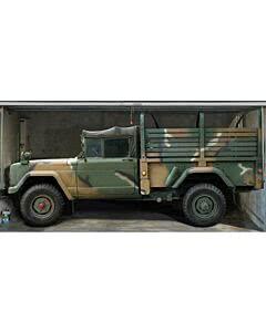 Garagentorplane Military Truck