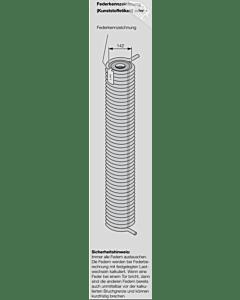 Hörmann Torsionsfeder Nr R 81 mit Kunststoffrohr für Industrie-Sektionaltor