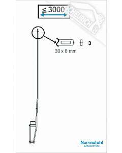 3 - Hebelarm für Schwingtor SWT - nicht mehr lieferbar -