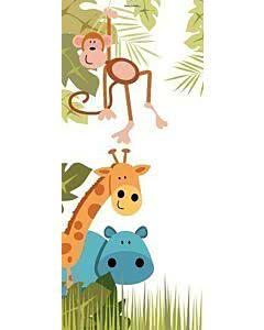 Türplane Tiere im Dschungel