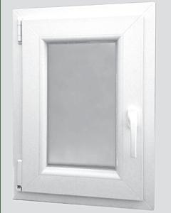 Scheurich Kunststoff Fenster 570er Baureihe weiß - einflügelig