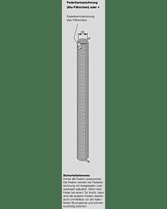 Hörmann Torsionsfeder Nr R 402 für Industrie-Sektionaltor