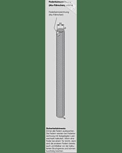 Hörmann Torsionsfeder Nr L 53 mit Kunststoffrohr für Industrie-Sektionaltor