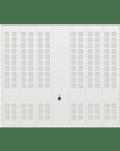 Hörmann Berry Schwingtor N80 Motiv 988 - glatte Oberfläche - Farbe weiß