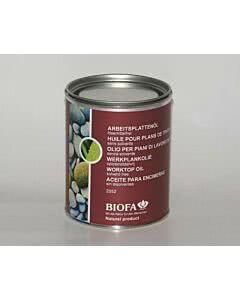Biofa Arbeitsplattenöl lösemittelfrei 0,75 Liter
