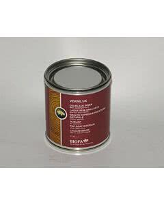 Biofa VERNILUX Decklack - weiß seidenglänzend, lösemittelhaltig Innen 0,375 Liter
