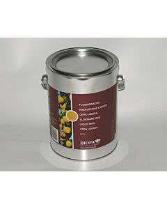 Flüssigwachs, farblos 2,5 Liter