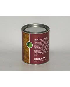 Biofa Holzlasur - farblos lösemittelfrei Innen 0,75 Liter