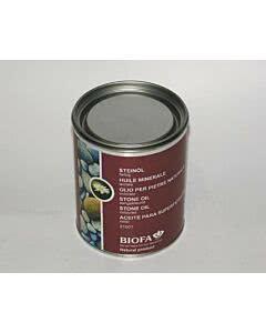 Biofa Steinöl farbig 0,75 Liter