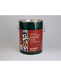 Abbildung: Biofa Terrassenöl, farblos 2,5 Liter