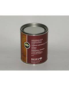 Biofa Universallack - transparent glänzend, lösemittelhaltig 0,75 Liter