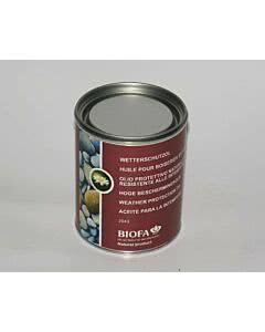 Biofa Wetterschutzöl - Außen 0,75 Liter