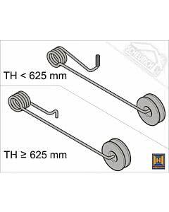 Hörmann Drehfeder für Industrie-Sektionaltor BR 40, für versch. Torhöhen wählbar (Ersatzteile Tore)