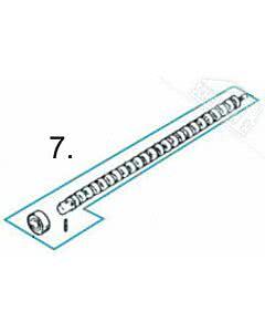 7 - Spindel für Normstahl Elegant 400 Drehtorantrieb