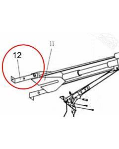 12 - Aufhängewinkel für Sturzbefestigung für Normstahl Perfekt, Mono Garagentorantrieb