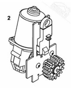 2 - Motoreinheit für Normstahl Elegance 2500 Drehtorantrieb