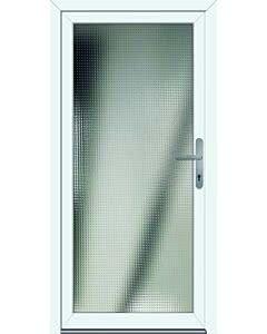 Feba NovoTherm Nebeneingangstüre Modell Grunewald weiß
