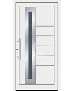 Feba Kunststoff Haustüre KU 130 RAL 9016 weiß