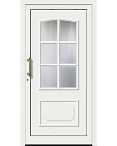 Feba Kunststoff Haustüre KU 320 RAL 9016 weiß