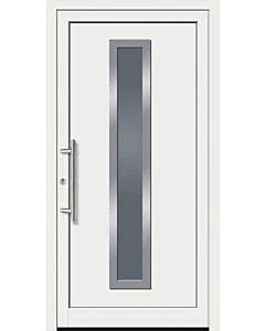 Feba Kunststoff Haustüre KU 50 RAL 9016 weiß