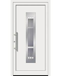 Feba Kunststoff Haustüre KU 70 RAL 9016 weiß