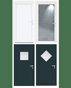 FeBa Aluminium Nebeneingangstüren Aktions-Modelle AN
