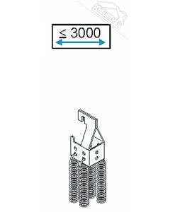 2 - Federpaket für Normstahl Schwingtor SWT