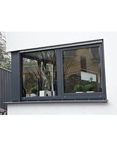 Scheurich Aluminium Fenster 2-flügelig - RAL 9016