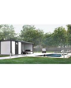 Wolff Finnhaus Eleganto 2424 mit Lounge Anbau