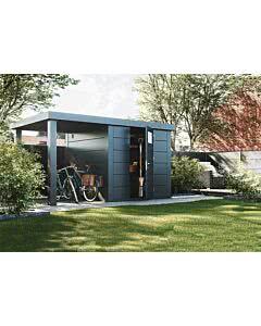 Wolff Finnhaus Eleganto 2424 mit Seitendach 170