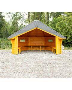 Wolff Finnhaus Wetterschutzhütte