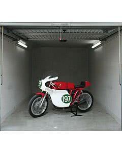 Garagentorantrieb Vintage Motorbike