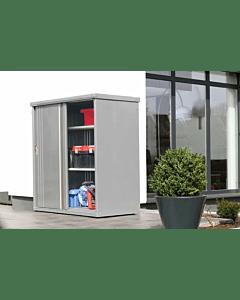 Wolff Finnhaus Geräteschrank 135 rauchgrau