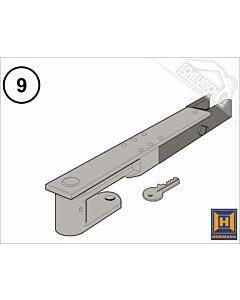 9 - Hörmann Notentriegelung mit Schlüssel DTU 250