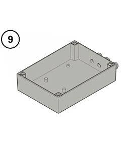9 - Hörmann Steuerungsgehäuse Unterteil für RotaMatic / P / PL / Akku