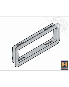 Hörmann RollMatic Außenrahmen für Verglasungselement und Lüftungsgitter