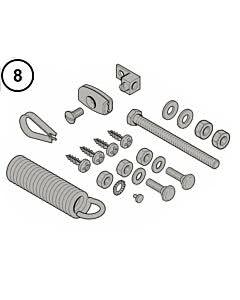 8 - Hörmann Zubehörbeutel für LineaMatic/P und STA 60/90/180/220