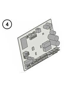 Hörmann Steuerungsplatine für LineaMatic und LineaMatic P Schiebetorantrieb mit Funkempfänger