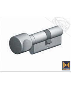 Hörmann Profilzylinder mit Dreholive (27,5 + 35,5 mm) für Stangengriff (Tür nach Innen öffnend) mit 5 Schlüsseln