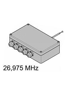 4-Kanal-Relais-Empfänger HER4 26,975 MHz