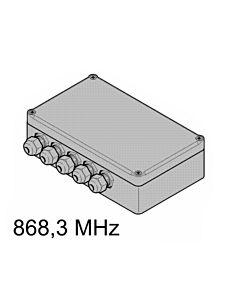 4-Kanal-Relais-Empfänger HER4 868,3 MHz