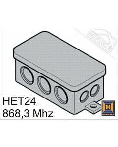 Mini-2-Kanal-Empfänger HET24 868,3 MHz